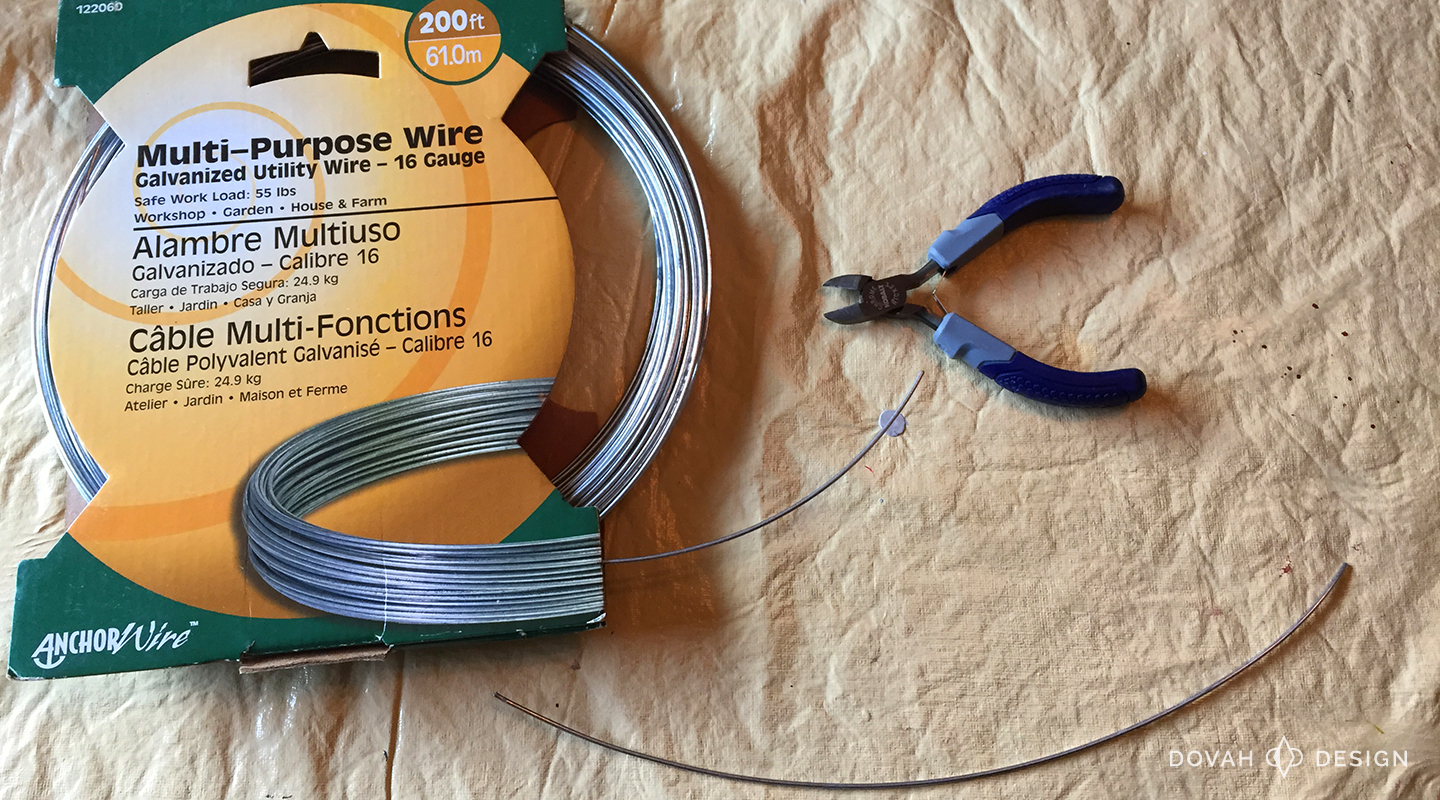 16 gauge multi-purpose wire used for creating antlers for cosplay.